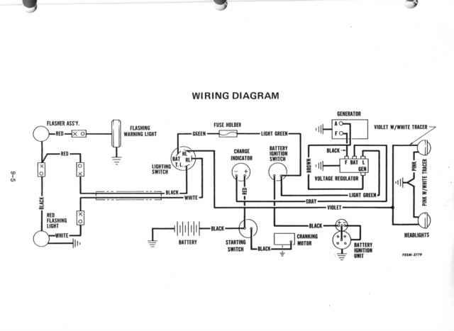 1950 farmall cub tractor wiring diagram for