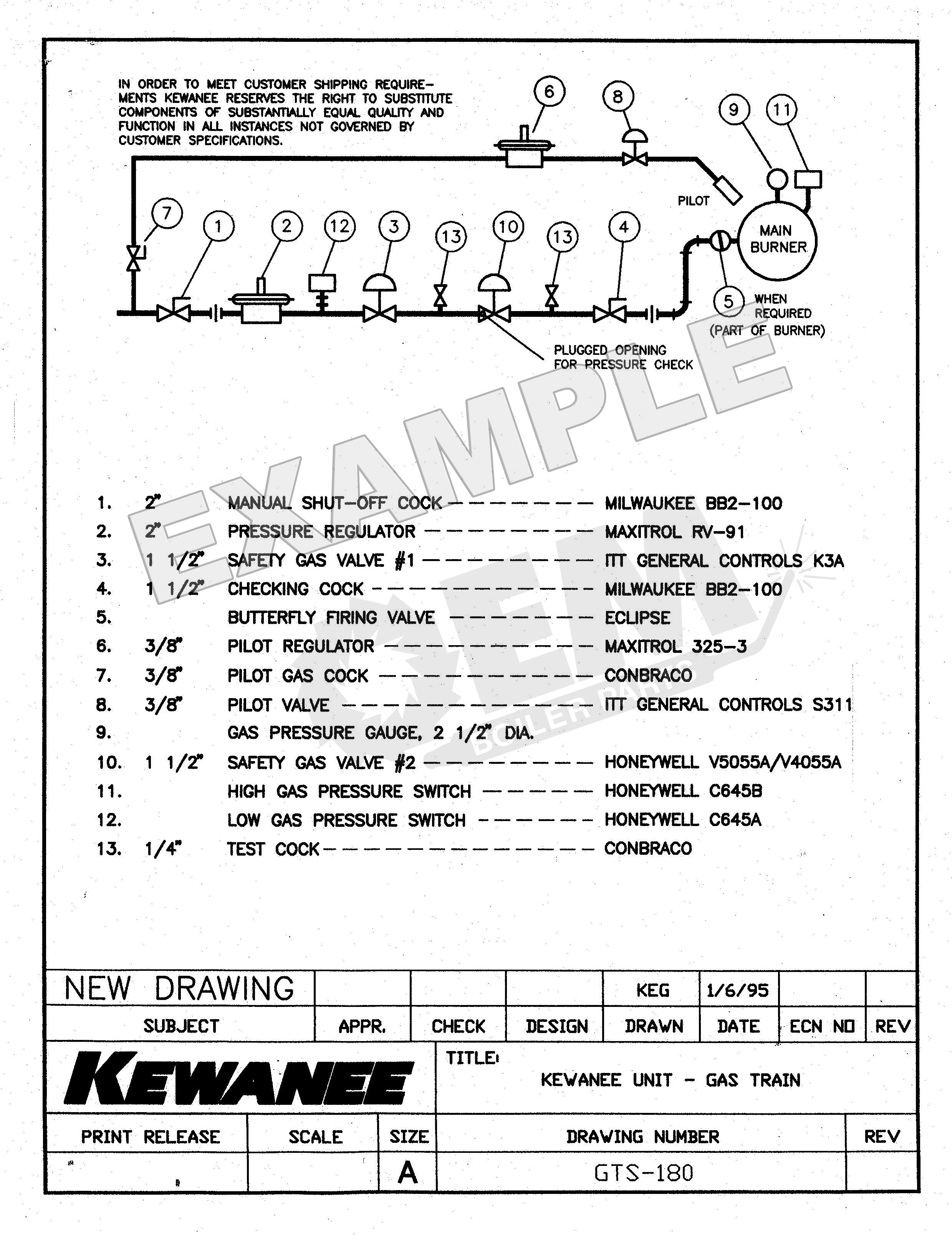 Kewanee Job Specific Technical Data