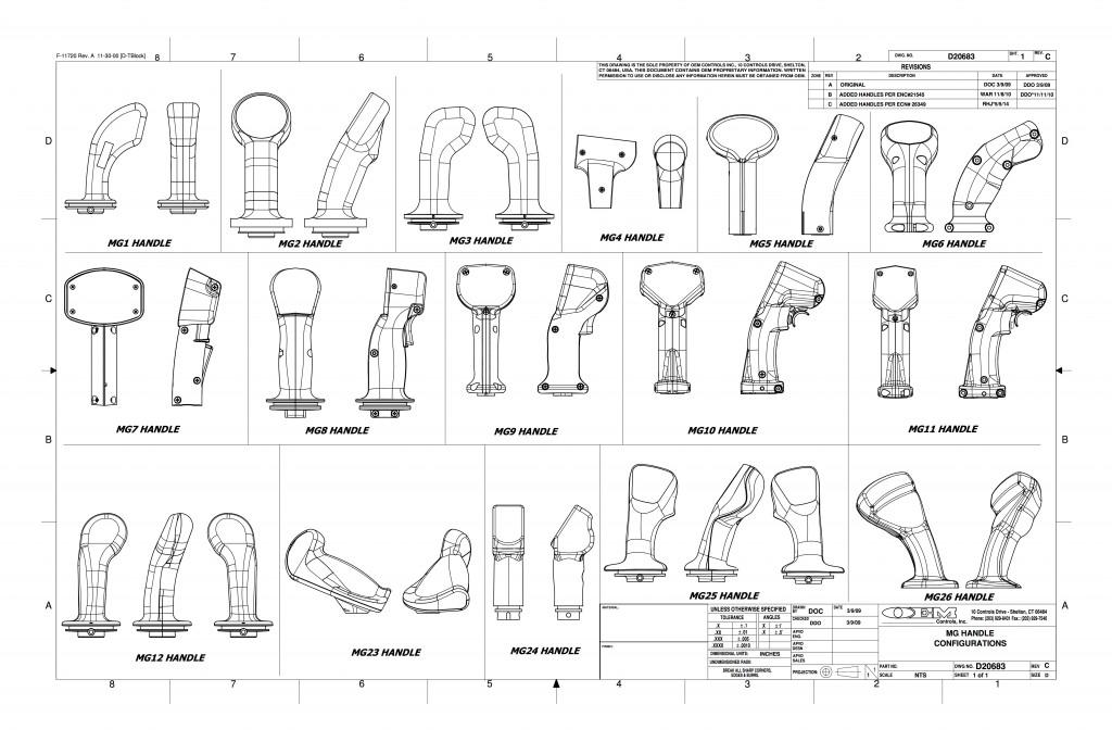 MG Multi Grip Handle I Product Information I OEM Controls