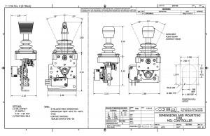MS1 Single Axis Joystick Controller I Products I OEM Controls