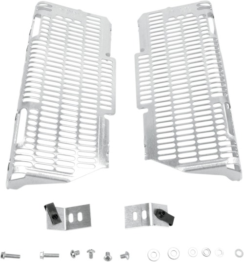 Devol Aluminum Radiator Guards YAMAHA YZ 450 F YZ450F 2006