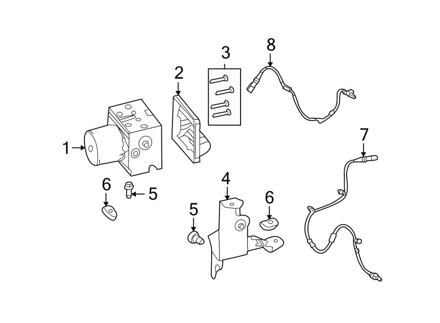 Ford Mustang Abs control module. Light, repair, warning