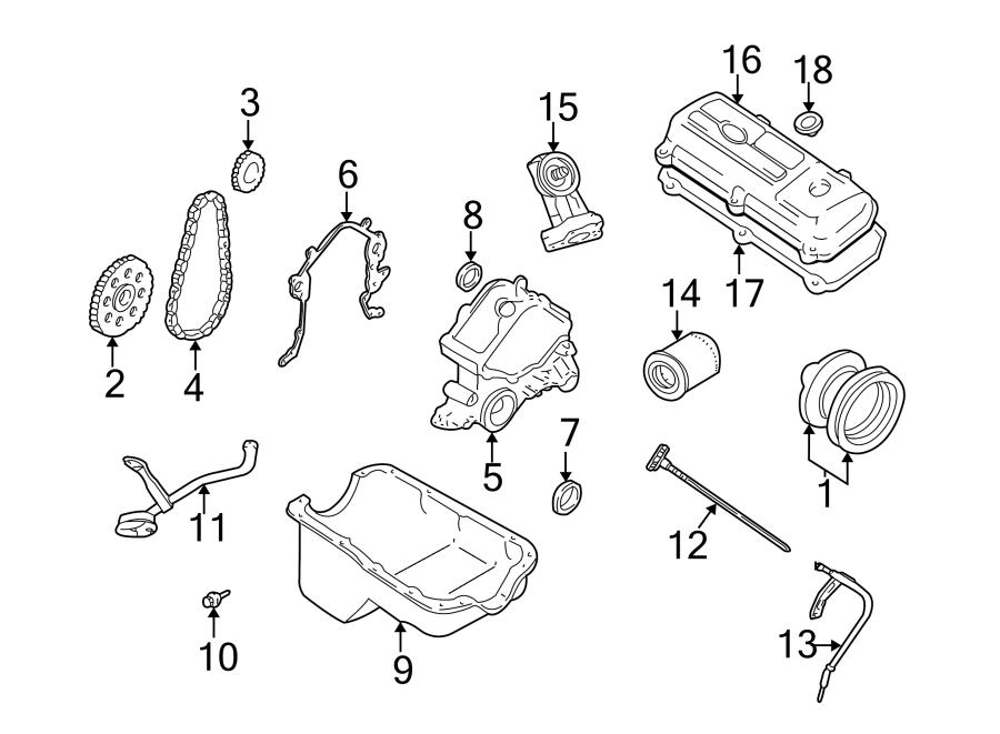 Ford Mustang Crankshaft. Gear. Timing. Engine. Sprocket. 3