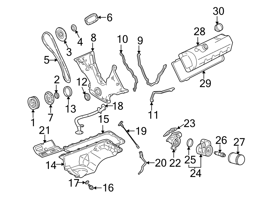 Ford Mustang Engine Oil Dipstick Tube. 4.6 LITER, DOHC. 4