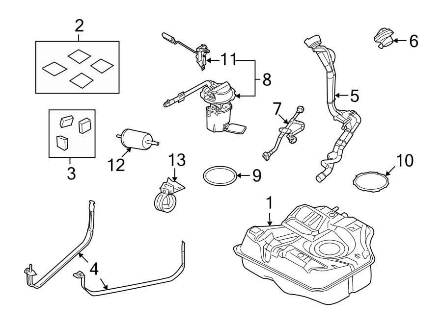 [DIAGRAM] Mercury Mountaineer Fuel System Diagram FULL