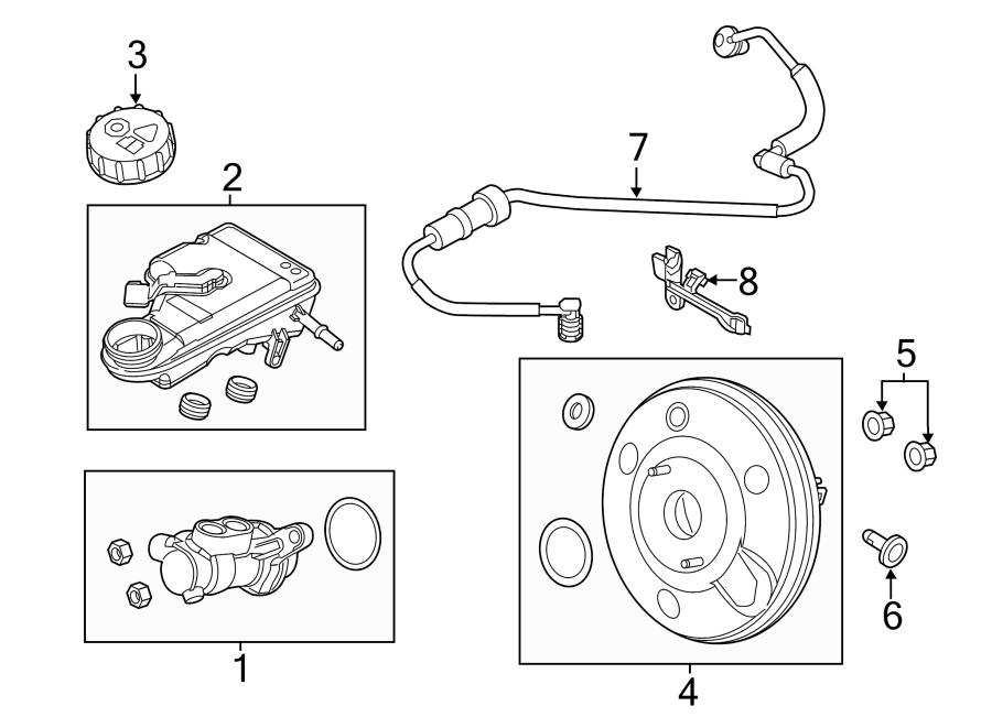 Ford Focus Brake Master Cylinder Reservoir. Replace