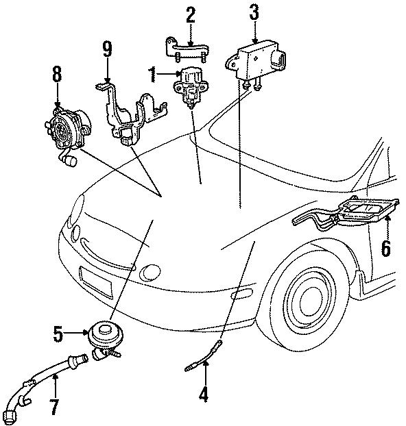 Ford E-350 Econoline Oxygen Sensor. LITER, EMISSION