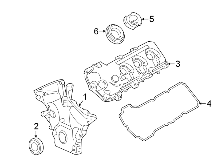 Lincoln Continental Engine Oil Filler Tube. 3.5 LITER. 3.5