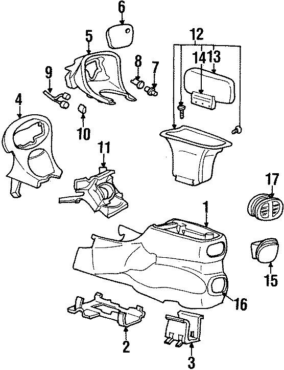 Mercury Sable Socket. Accessory. Outlet. Volt. Power. 1995