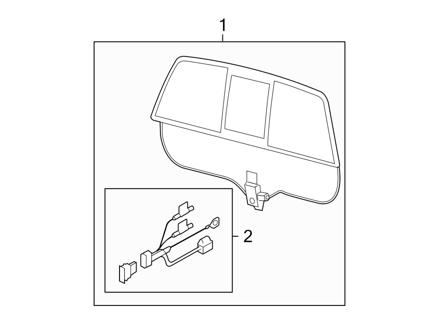 Ford F-150 Glass. ACCESSORY POWER SLIDING, Ford