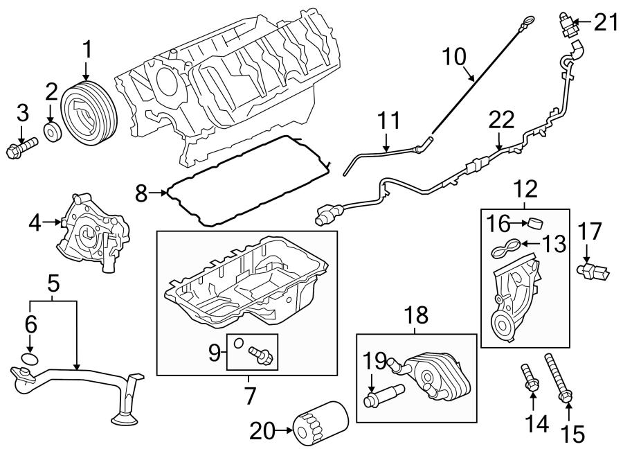 Ford F-150 Engine Oil Dipstick. 5.0 LITER. 5.0 LITER, 2015