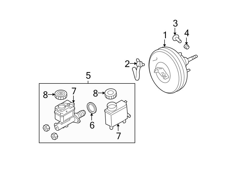 Ford Expedition Brake Master Cylinder. Leak, Repair