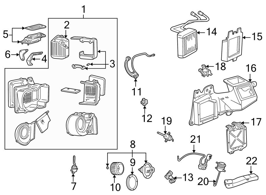 Ford F-350 Super Duty Hvac system wiring harness. W/atc. W