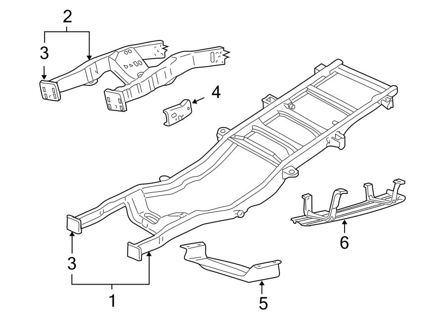Ford F-350 Super Duty Fuel Tank Skid Plate. LITER, Foot
