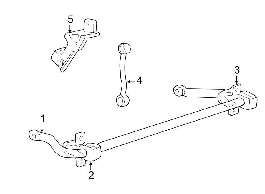 Ford F-250 Super Duty Suspension Stabilizer Bar Bushing