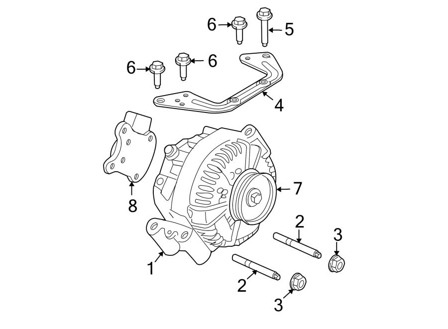 Ford Explorer Alternator. Amp, Models, Liter