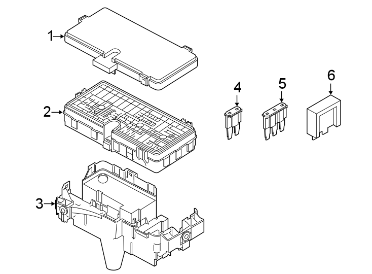 Ford Police Interceptor Utility Fuse Box. Liter, Trailer