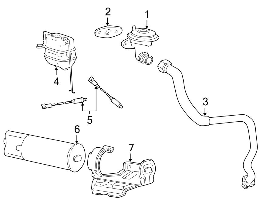 Ford F-250 Egr valve gasket. Liter, emission, pick
