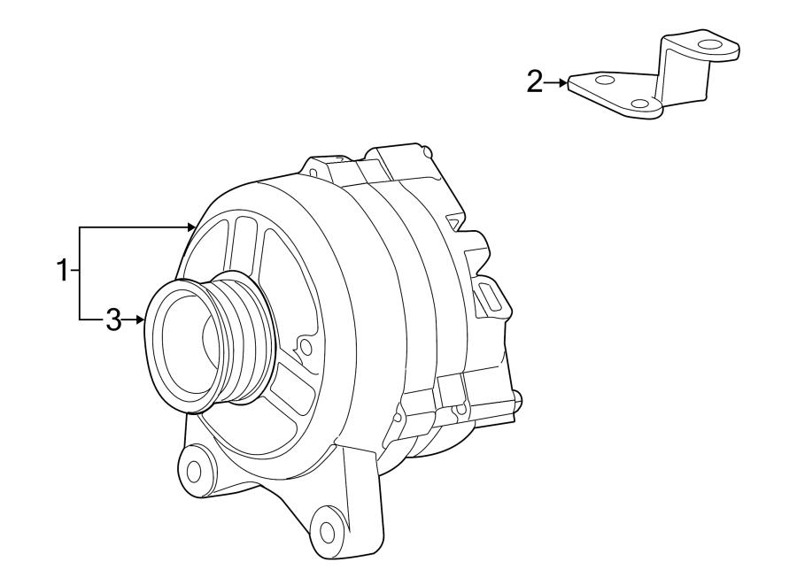 Lincoln Blackwood Alternator. Battery, Replaced