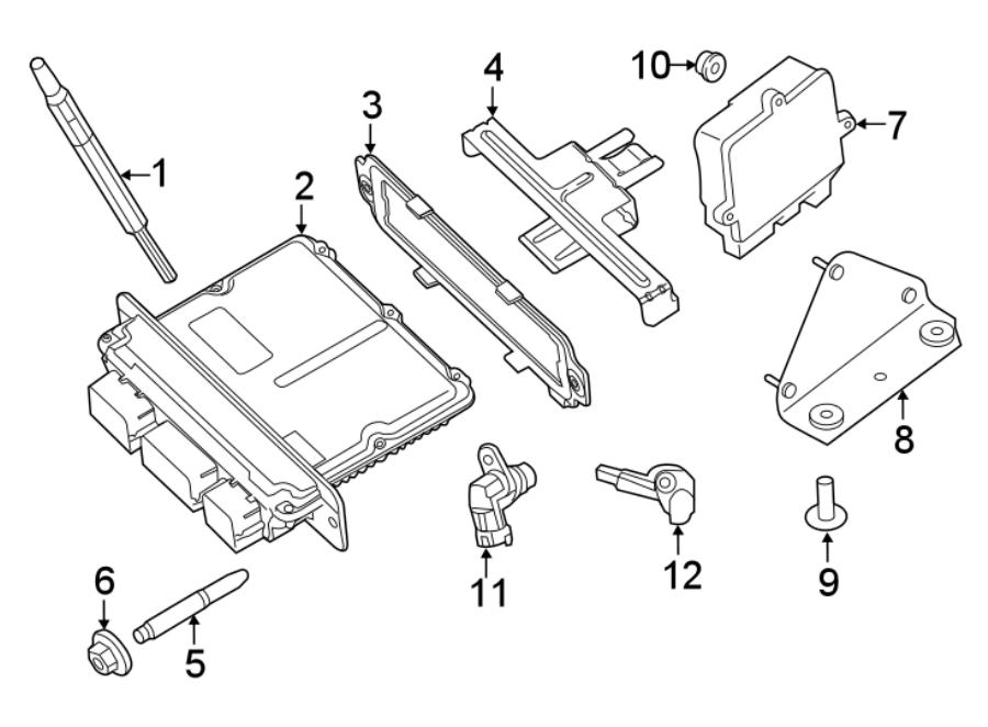 Ford F-350 Super Duty Diesel Glow Plug Controller. Make