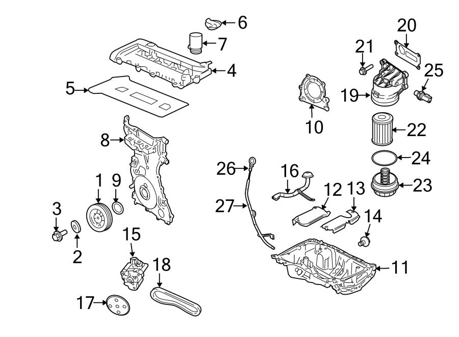 Mercury Mariner Engine Crankshaft Seal. BEARINGS, Hybrid