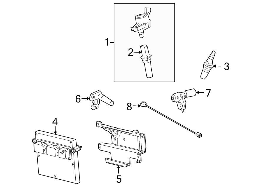 Lincoln Navigator Engine Control Module. Code