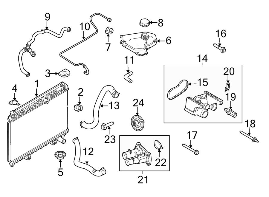 Ford Fiesta Engine Coolant Thermostat. 1.6 LITER NON TURBO