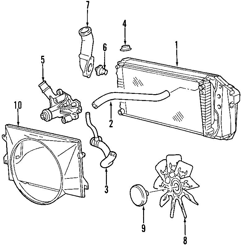 Ford F-150 Radiator Coolant Hose. 4.2 LITER. F150. COOLING