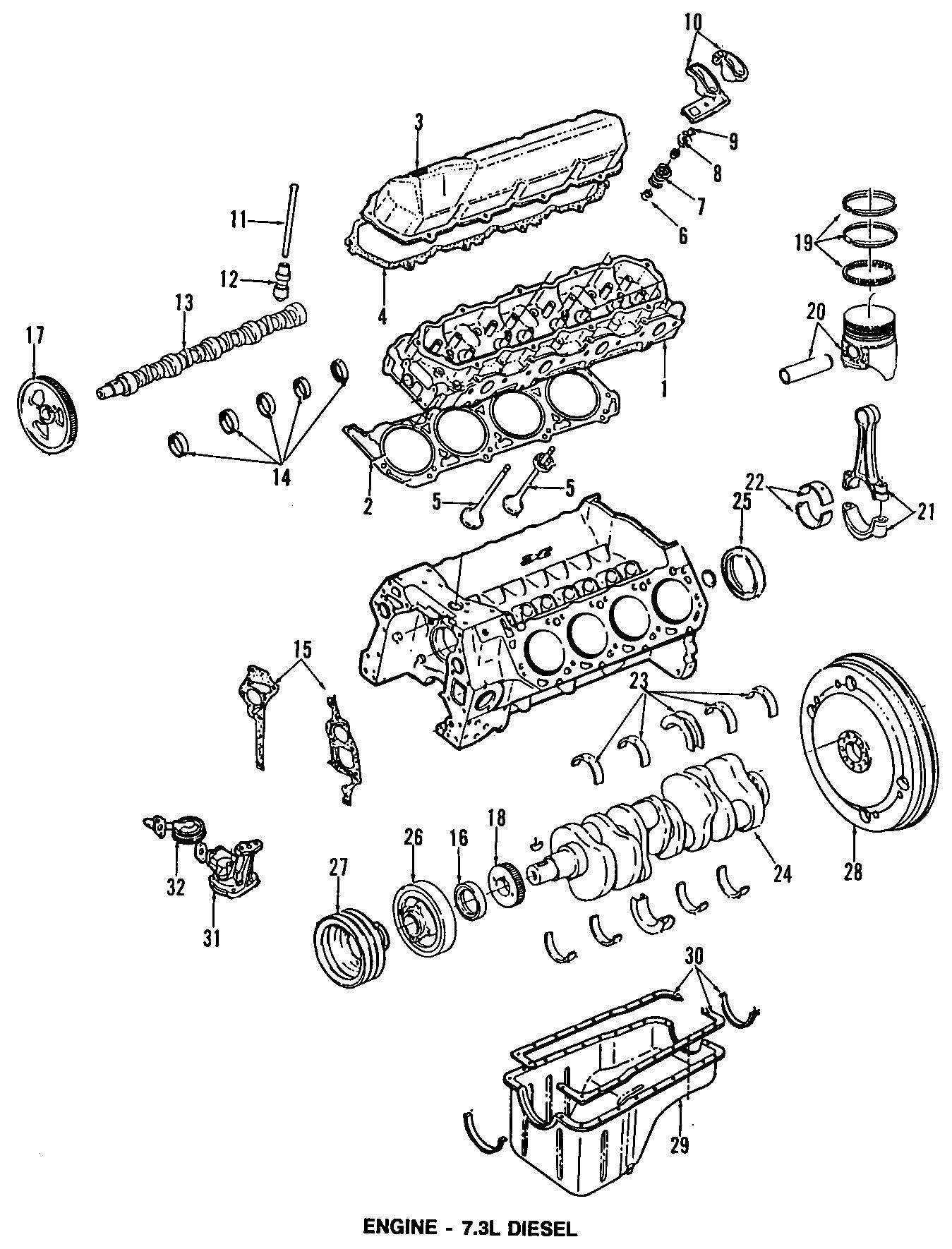 Ford E-350 Econoline Club Wagon Engine Valve Cover Gasket