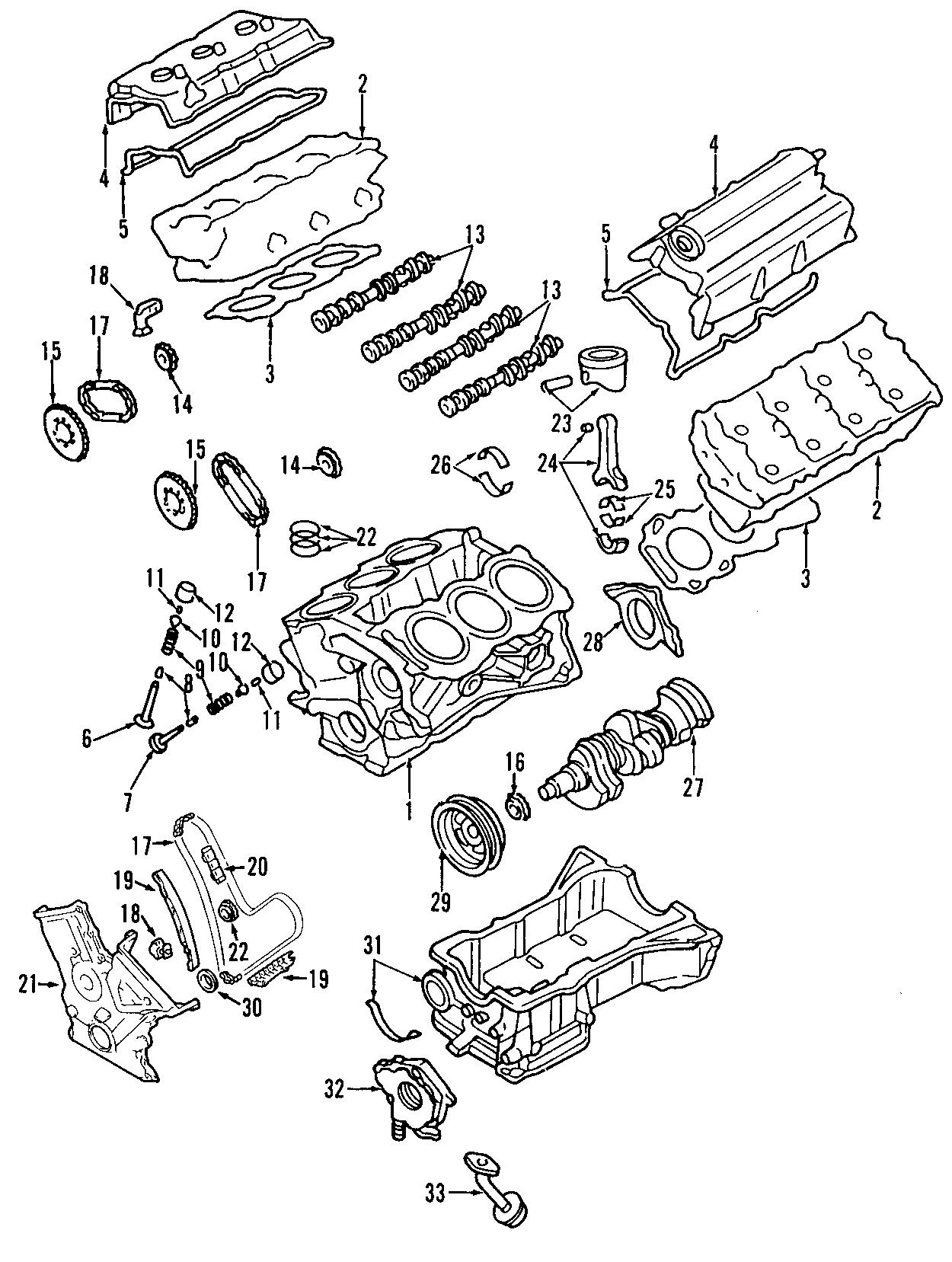Lincoln MKX Engine Crankshaft Main Bearing. Grade, STD