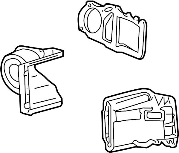 Mercury Grand Marquis A/c evaporator core and case