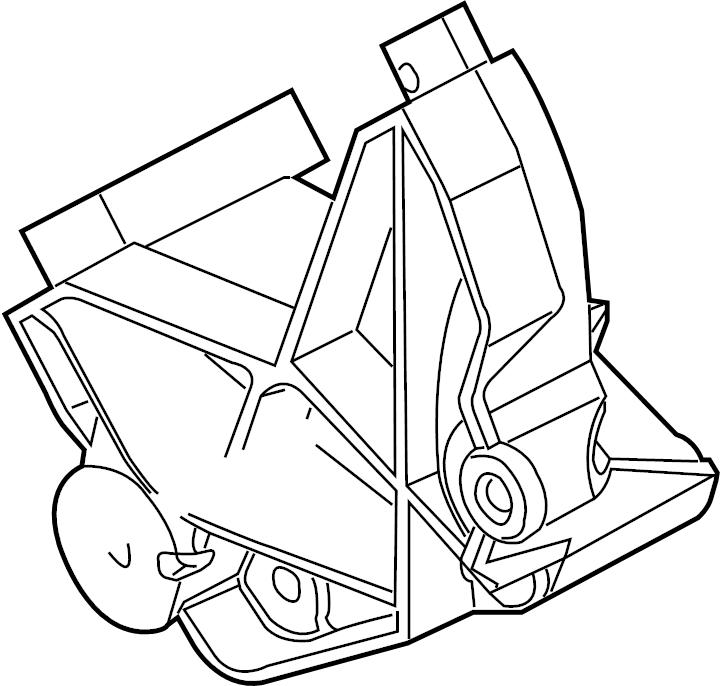 Ford Explorer Alternator Bracket. 4.0 LITER. 4.0L. Mount