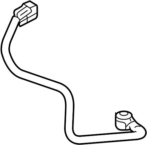 Ford E-150 Econoline Ignition Knock (Detonation) Sensor