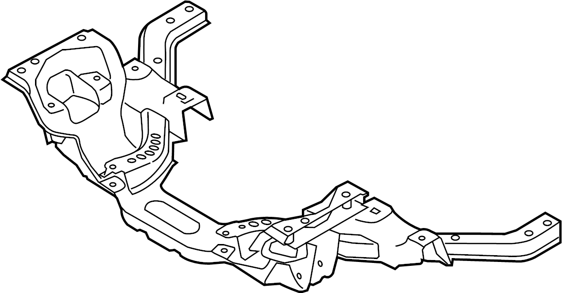 Ford Mustang Engine Cradle. Mustang. SUSPENSION, Front