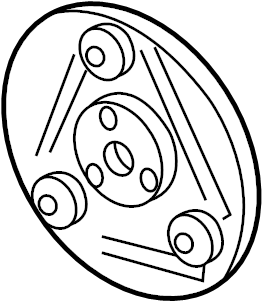 Mercury Sable Clutch. Compressor. Hub. (a/c). Air