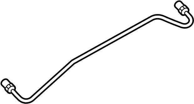 Mercury Sable Power Steering Line. Short, Front, Tube