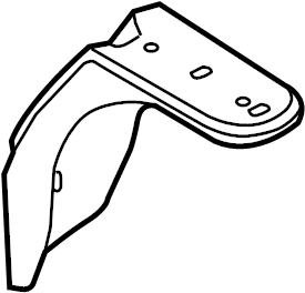 Ford Fusion Battery Tray Bracket. 2007-12. Support