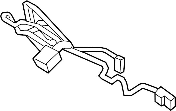 Mercury Milan Steering Wheel Wiring Harness. Interface