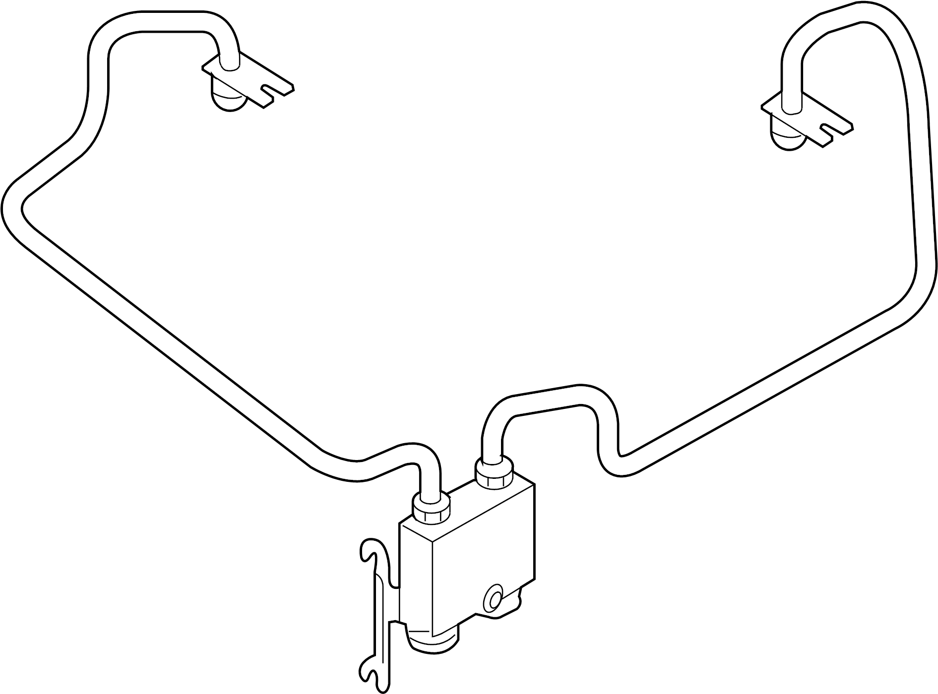 Mercury Sable Cooler. Tube. Transmission. Oil. Automatic