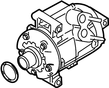 Mercury Sable A/c compressor. Liter, repair, make