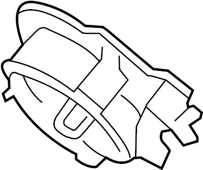 Lincoln MKS Boot. Steering. Column bracket. Coupling. Dust