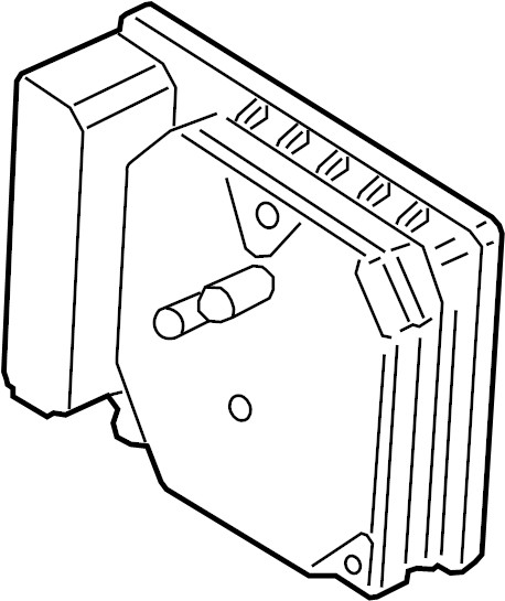 Ford Fusion Abs control module. Stop, components