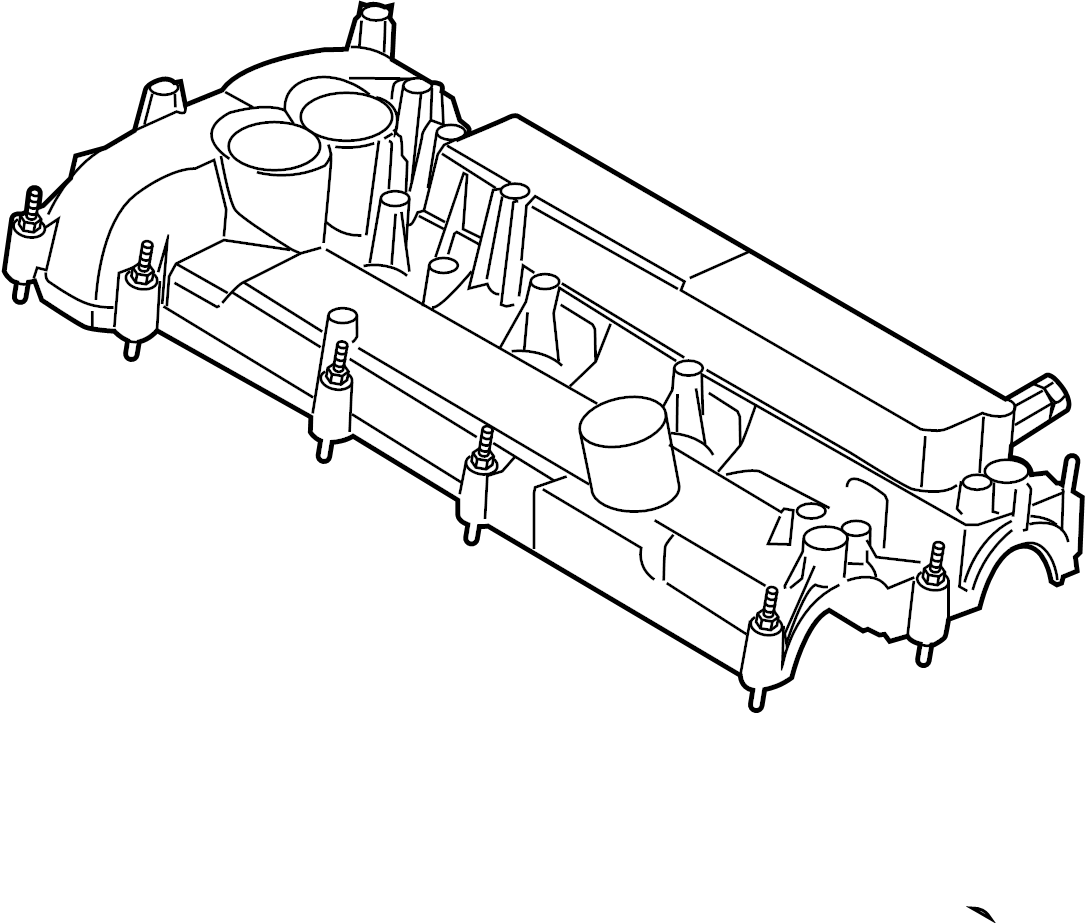 Ford Edge Engine Valve Cover. BEARINGS, LITER, TIMING