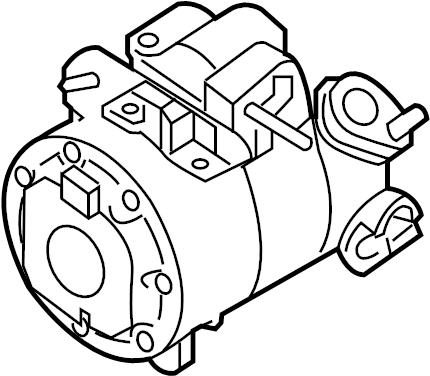 Lincoln Continental A/c compressor. Liter, repair, make