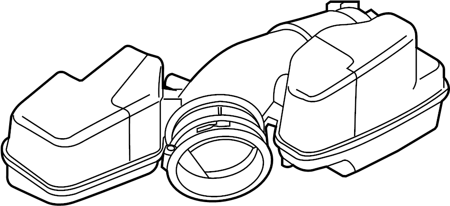 Mercury Sable Engine Air Intake Hose. LITER, Duct