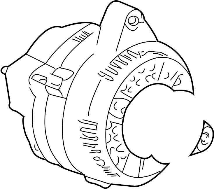 Mercury Sable Alternator. Battery, DOHC, LITER