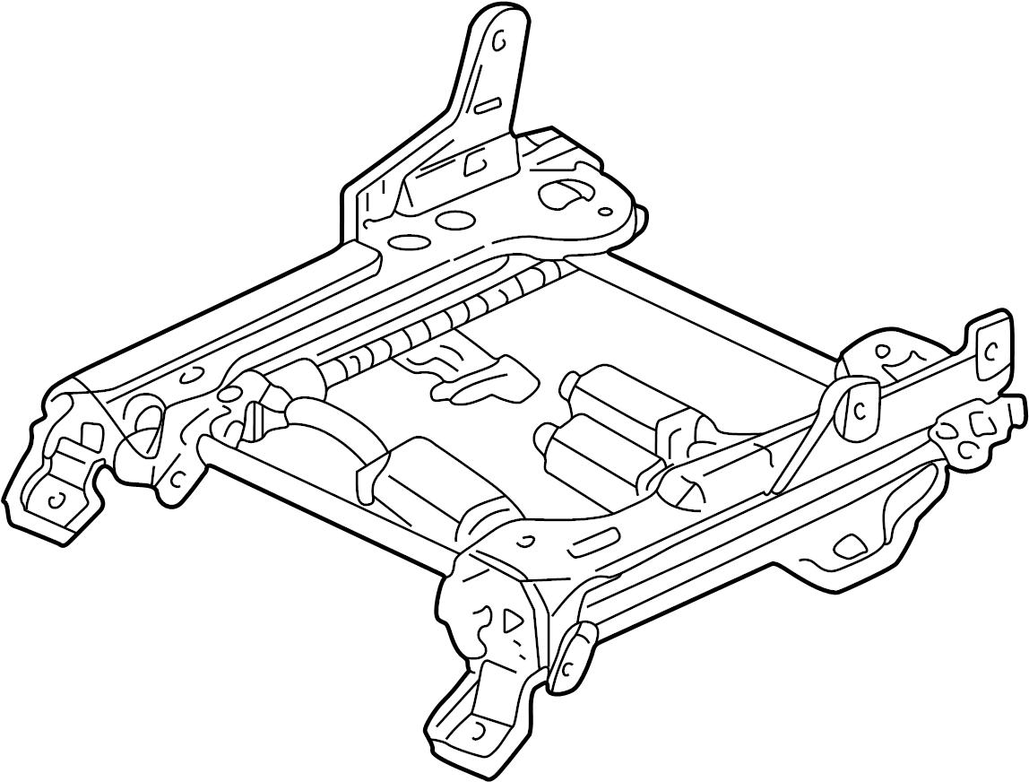 Mercury Sable Seat Track. POWER SEATS. Sable, Taurus