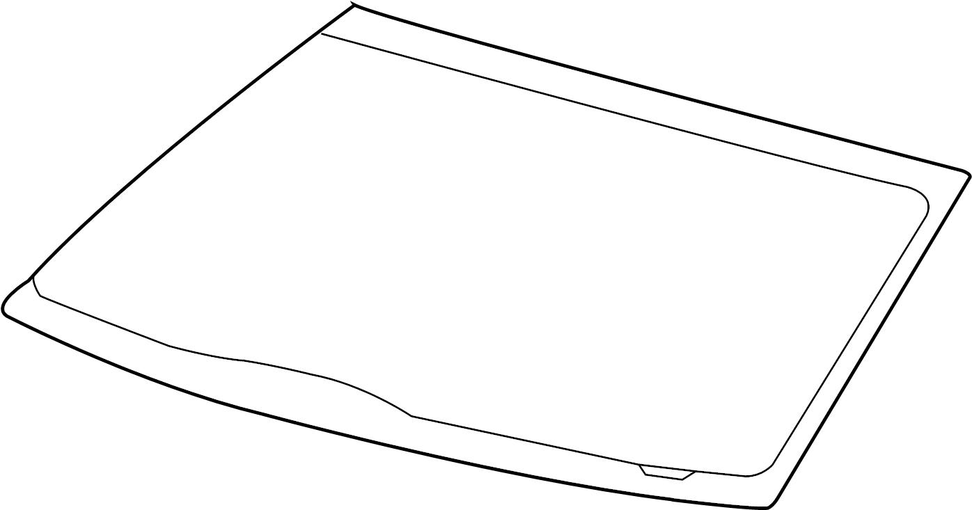 Ford F-150 Windshield Glass. Ford, w/HARLEY DAVIDSON. Body