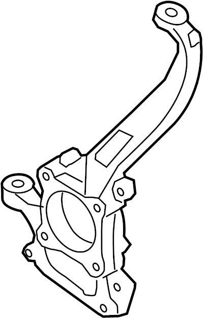Ford F-150 Steering Knuckle. Suspension, Right, Front