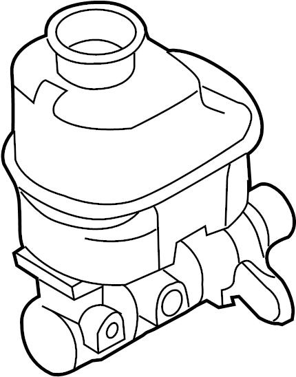 Ford F-150 Brake Master Cylinder. CAB, Leak, Repair